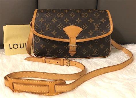 auth louis vuitton sologne monogram canvas small shoulder crossbody bag purses fashion