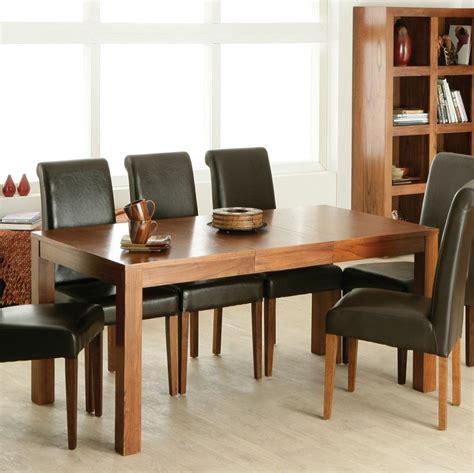Schoene Ideen Fuer Esstisch Mit Stuehlenesstisch Aus Glas by Leather Chairs For Kitchen Table Tische Und St 252 Hle