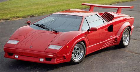 "1989 Lamborghini Countach 25th Anniversary ""Downdraft ..."