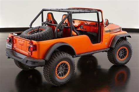 cj jeep wrangler sema 2016 cj66 is a jeep and mopar mashup jk forum com