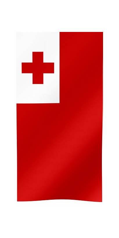 Flag Tonga Tongan Vertical Cities Major Flags
