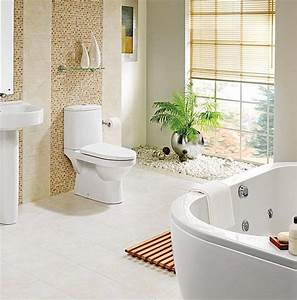 Décoration D Une Petite Salle De Bain : 5 id es pour une salle de bain zen woodeco ~ Zukunftsfamilie.com Idées de Décoration