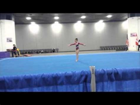 Usag Level 3 Floor Routine 2014 by Gymnastics Floor Routines Level 3 Level 3 Gymnastics