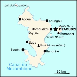 Localisation Mayotte Carte Monde by