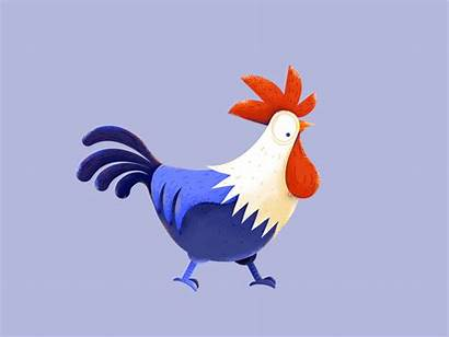 Walk Dribbble Cock Motion Animated Animation Cycle