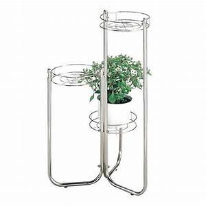 Vente De Plantes En Ligne Pas Cher : console pour porte plante en tube d 39 acier color achat ~ Premium-room.com Idées de Décoration