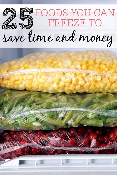 freeze foods money save freezer meals cooking food frozen freezing blonde easy frugallyblonde inside yourself put these simple things frugally
