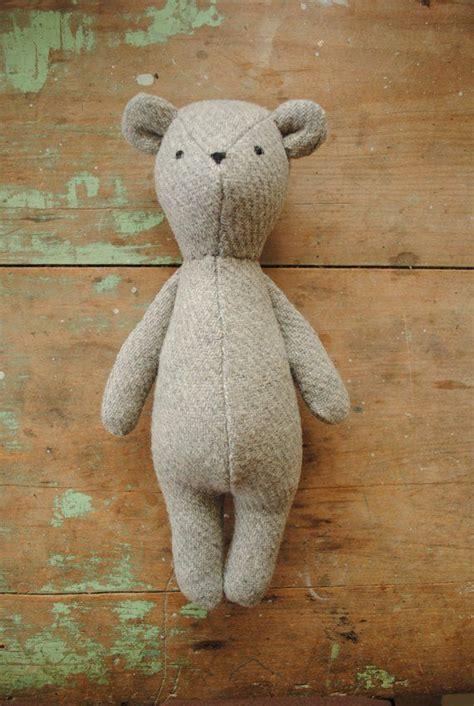 bunny rabbit  bear stuffed animal doll sewing pattern