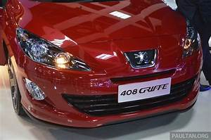 Peugeot 408 Griffe Upgrade Package Announced