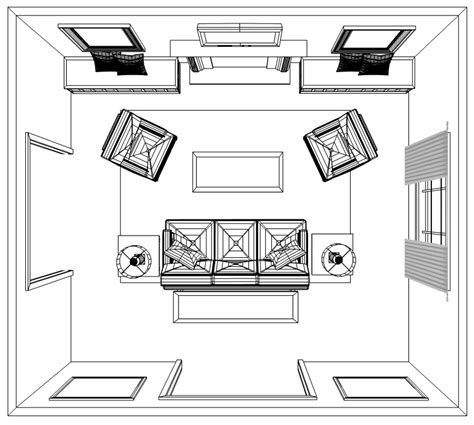 How To Plan An Accurate Living Room Interior Design Layout
