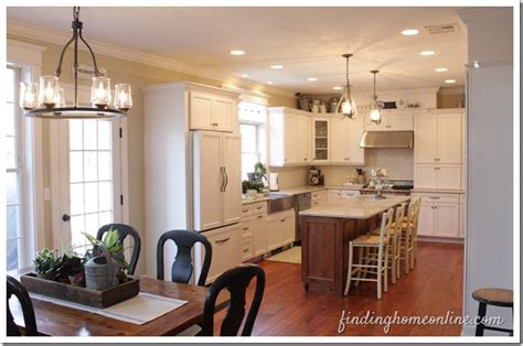 before and after small kitchen makeovers kitchen makeover before and after finding home farms 9090