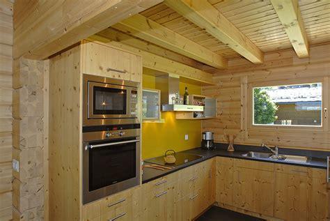 cuisine maison bois nos réalisations de maisons ma maison bois