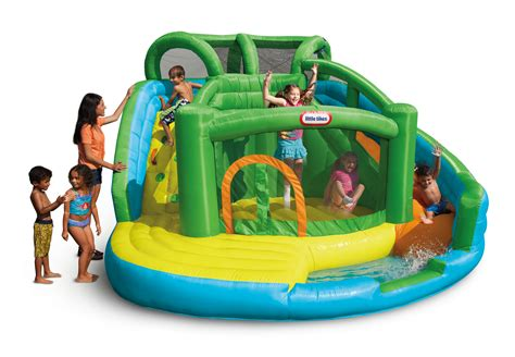 tikes    wet  dry bouncer toys games