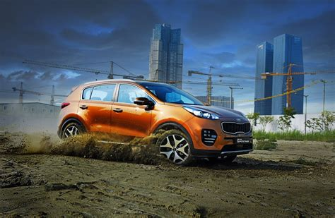 Kia Sportage 4k Wallpapers by 2016 Cars Kia Sportage Suv Wallpaper 1600x1045 804215