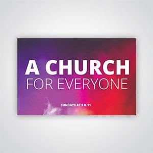 church invitation cards