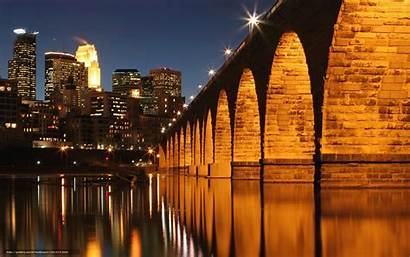 Minneapolis Desktop Bridge Mississippi River Wallpapersafari