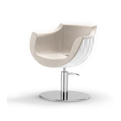 pearl chair white styling salon chairs gamma bross