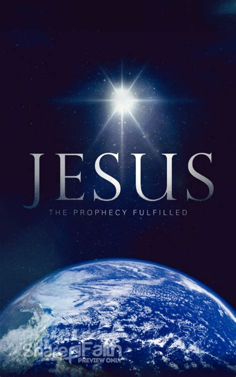 prophecy fulfilled ministry bulletin christmas bulletins
