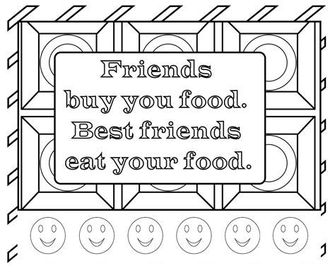 Funny Quotes Coloring Pages