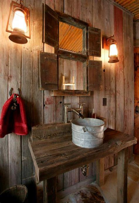 rustikale badezimmer 23 fantastische rustikale badezimmer design ideen