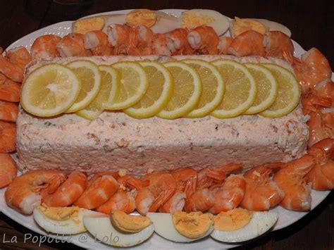 terrine de crevettes saumon  st jacques thermomix ou