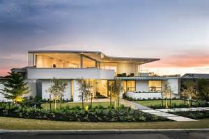 The Modern Houses by Stylish Modern Home In Perth Australia