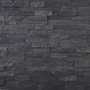 Plaquette De Parement Brico Depot : plaquette de parement briconature noire castorama ~ Dailycaller-alerts.com Idées de Décoration