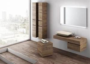 Bad Mit Holz : waschtisch waschbecken mit unterschrank holz optik comp495 mobilduenne woodwork in 2019 ~ Orissabook.com Haus und Dekorationen
