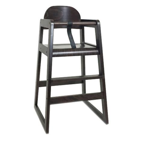 chaise de bar pour bébé chaise restaurant pour enfant couleur wenge czh bb05 wg
