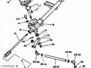 Golf Cart Steering Diagram : yamaha g1 am4 golf car 1984 parts lists and schematics ~ A.2002-acura-tl-radio.info Haus und Dekorationen