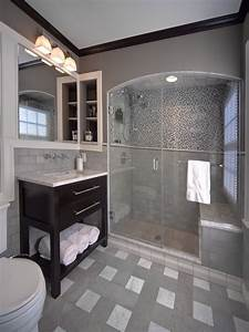 29, Gray, And, White, Bathroom, Tile, Ideas, And, Pictures