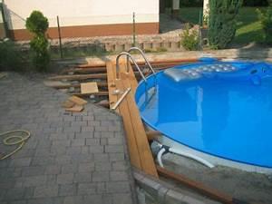 Pool Mit Holzterrasse : holzterrasse pool selber bauen ~ Sanjose-hotels-ca.com Haus und Dekorationen