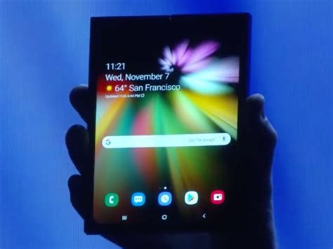 samsung will unveil its foldable phone on february 20 and names include fold galaxy fold