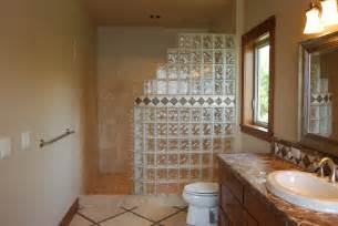 seattle glass block glass block shower kits install in 4 easy steps - Glass Block Bathroom Designs