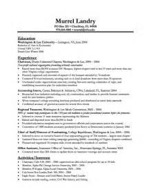 professional resume format sles for freshers sle resume undergraduate engineering students