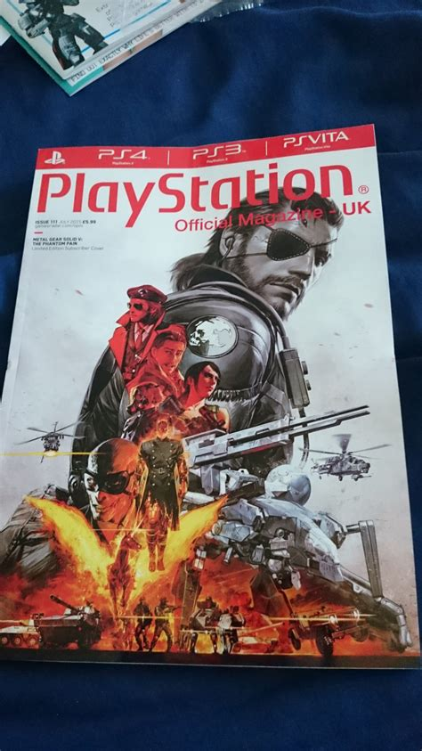 informer metal cover metal gear solid v the phantom pain magazine covers