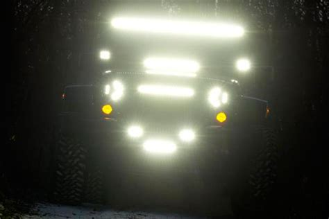 jeep headlights at night putco luminix led headlights free shipping