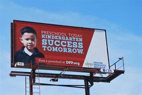 nonprofit brand amp campaign design denver preschool program 804 | DPP billboard 10801
