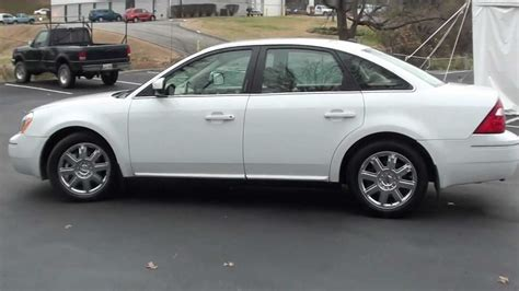 2007 Ford 500 Review by For Sale 2007 Ford 500 Sel 1 Owner Only 51k