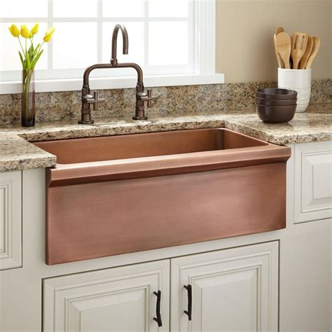 discount copper farmhouse sinks 25 bästa copper kitchen sinks idéerna på pinterest
