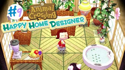 Animal Crossing Happy Home Designer  #9  Pekoe's