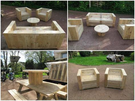 complete pallet garden set pallet ideas  pallets