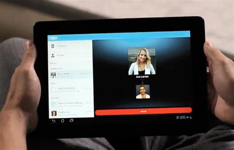 skype for android tablet image gallery skype tablet