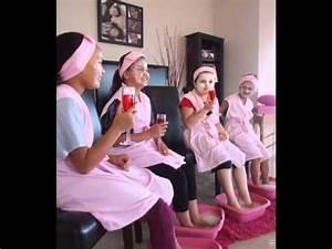 Little Princess kids pamper parties - YouTube