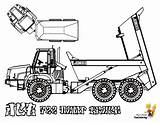 Coloring Construction Pages Jcb Print Truck Dump Forestry Paver Printable Yescoloring Road Highway Rugged Coolest sketch template