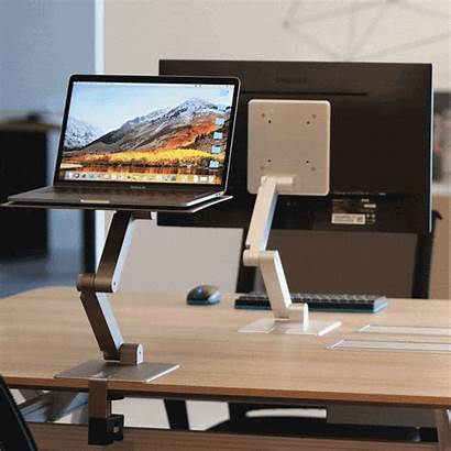 Portable Monitor Stand Laptop Desk Arm Standing