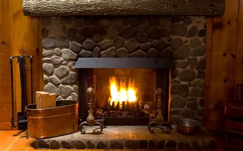 lovely hd fireplace wallpapers
