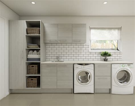 Kitchen Cabinet Handles Ideas - timberline laundry cupboards
