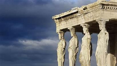 Architecture Greek Wallpapers Backgrounds Desktop 4k Px