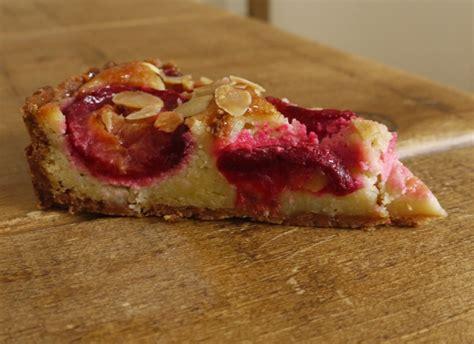 drunken plum frangipane tart thelittleloaf